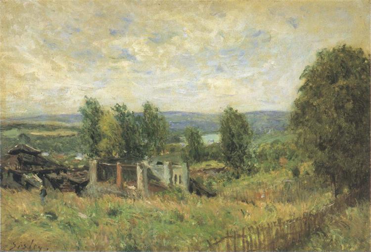 Landscape in Summer - Alfred Sisley