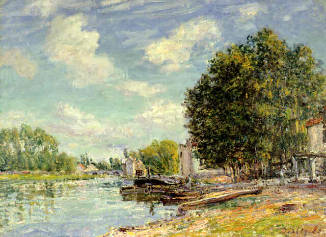 Moret Sur Loing, 1885 - Alfred Sisley
