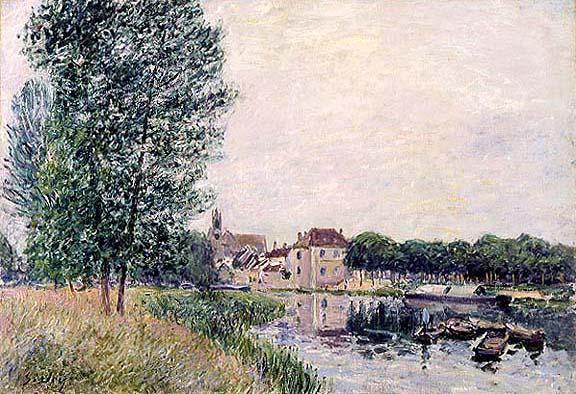 Moret Sur Loing, 1888 - Alfred Sisley