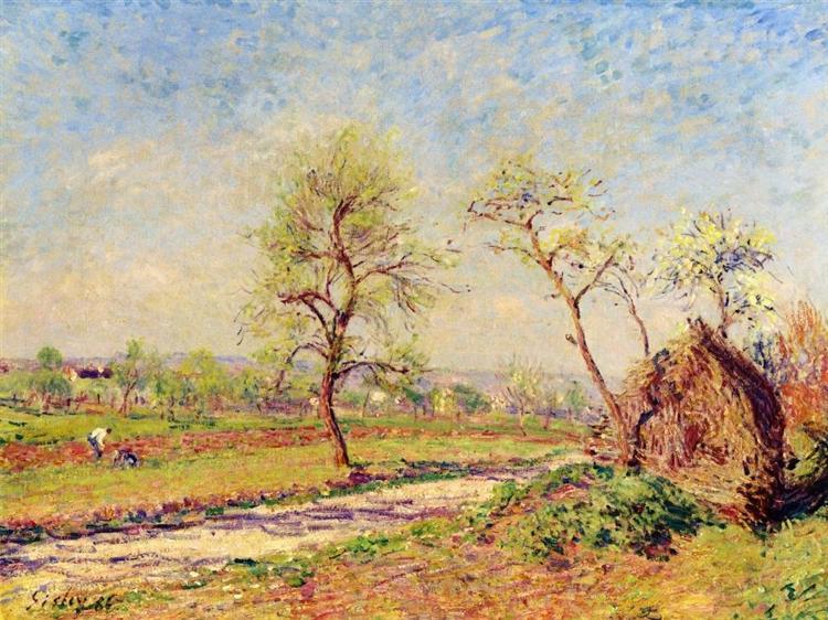 Road at Veneux, 1886 - Alfred Sisley