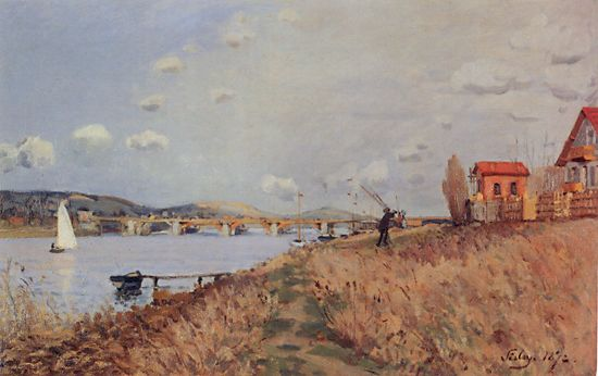 The Bridge at Argenteuil, 1872 - Alfred Sisley