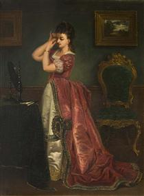 The final look - Alfred Stevens