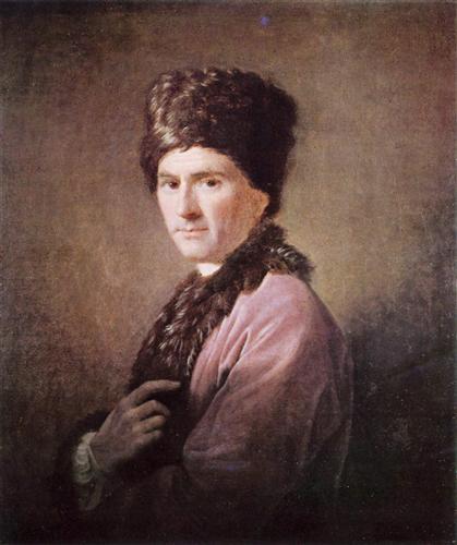 Jean Jacques Rousseau  - Allan Ramsay