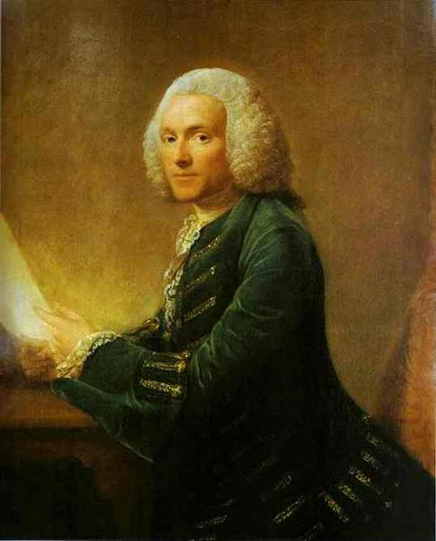 Portrait of Dr.William Hunter, c.1760 - Allan Ramsay