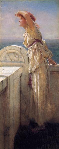 Hopeful, 1909 - Sir Lawrence Alma-Tadema