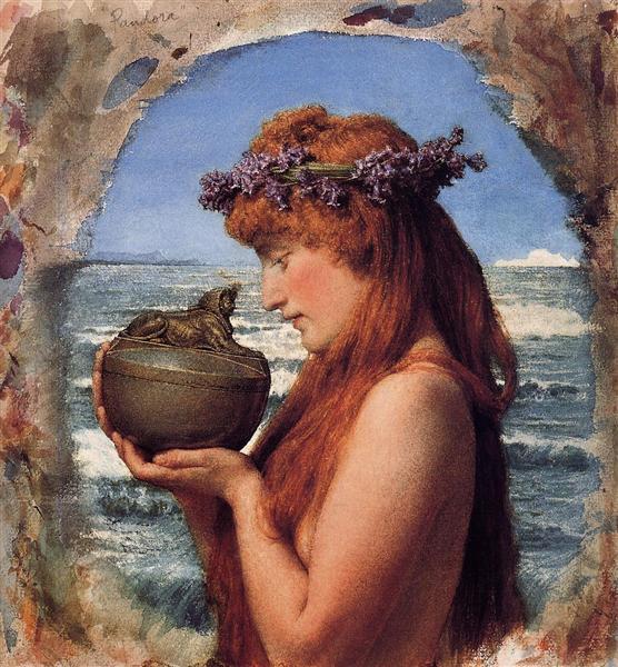 Pandora, 1881 - Sir Lawrence Alma-Tadema