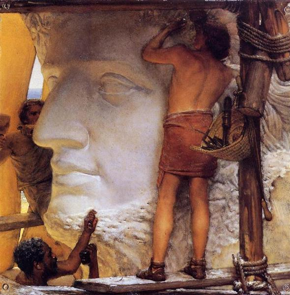 Sculptors in Ancient Rome, 1877 - Sir Lawrence Alma-Tadema