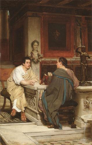 The Discourse - Sir Lawrence Alma-Tadema
