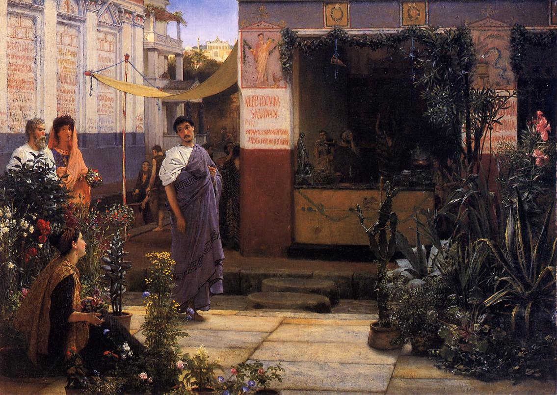 The Flower Market, 1868