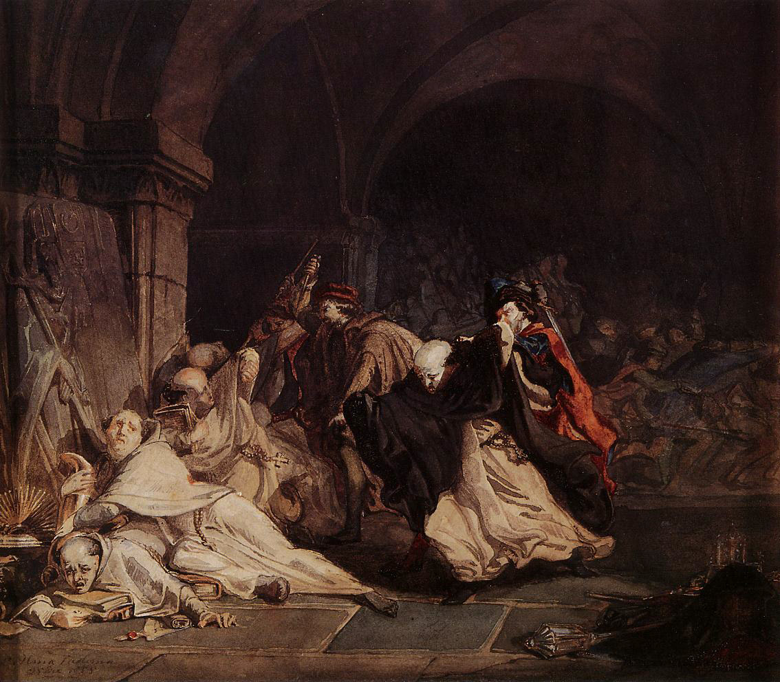 The Massacre of the Monks of Tamond, 1855