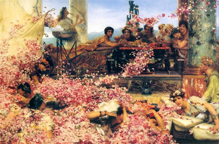 The Roses of Heliogabalus, 1888 - Sir Lawrence Alma-Tadema