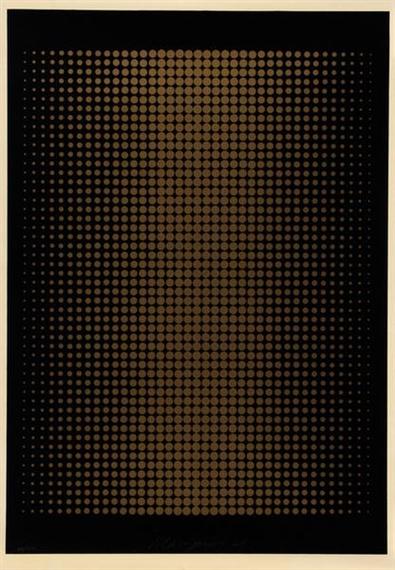 Punktstruktur, 1968 - Almir Mavignier