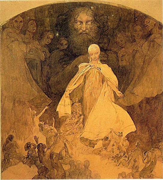 Age of Wisdom, 1936 - 1938 - Alphonse Mucha