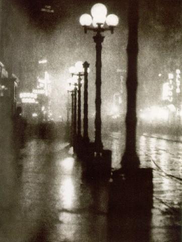 Broadway at Night, 1905 - Alvin Langdon Coburn