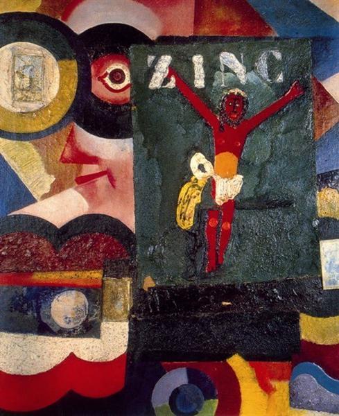 Zinc, 1917 - Амадеу ді Соза-Кардозу