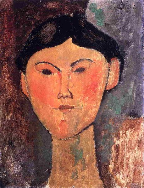 Beatrice Hastings, 1915 - Amedeo Modigliani