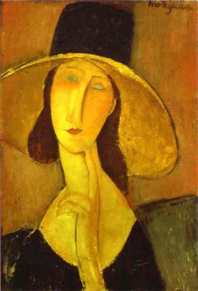 Head of a Woman, 1918 - Amedeo Modigliani