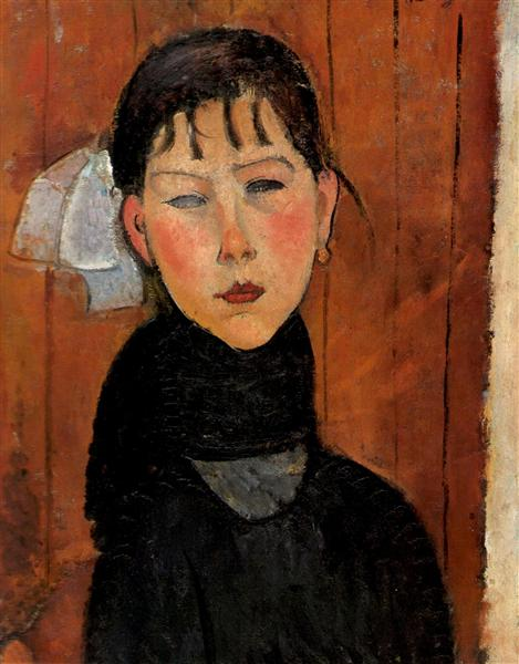 Marie, daughter of the people, 1918 - Amedeo Modigliani