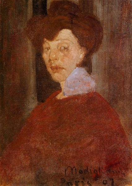 Portrait of a Woman, 1907 - Amedeo Modigliani