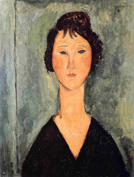 Portrait of a Woman, 1919 - Amedeo Modigliani
