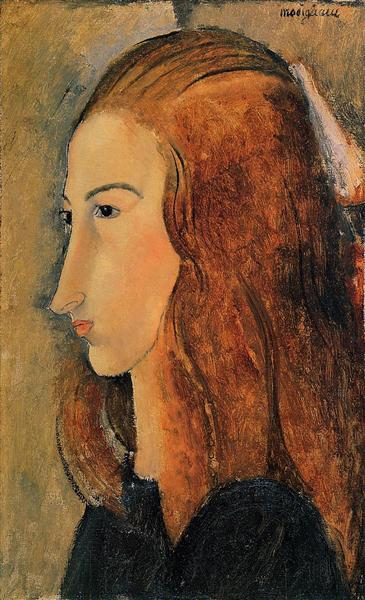 Portrait of Jeanne Hebuterne, 1918 - Amedeo Modigliani