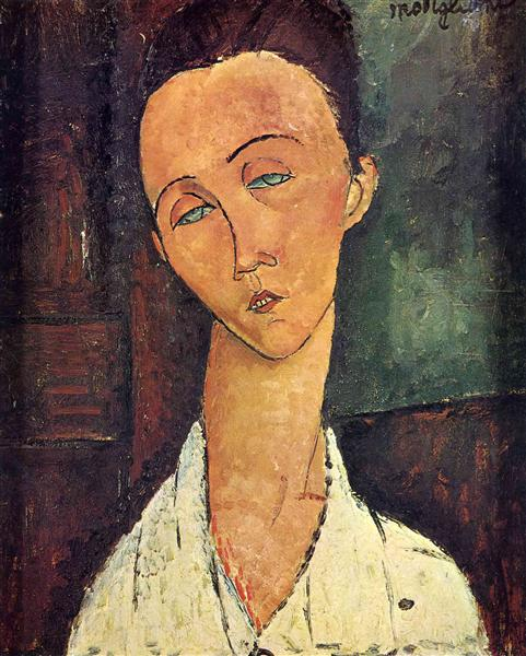 Portrait of Lunia Czechowska, 1918 - Amedeo Modigliani