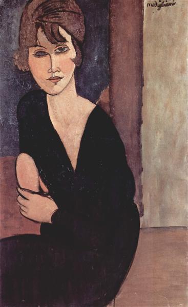 Portrait of Madame Reynouard, 1916 - Amedeo Modigliani