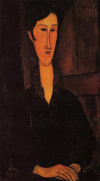 Portrait of Madame Zborowska, 1917 - Amedeo Modigliani