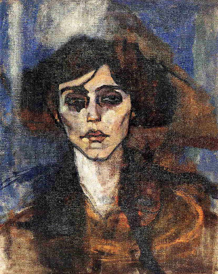 Portrait of Maude Abrantes, 1907 - Amedeo Modigliani