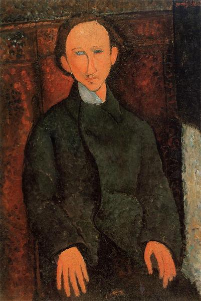 Portrait of Pinchus Kremenge, 1916 - Amedeo Modigliani