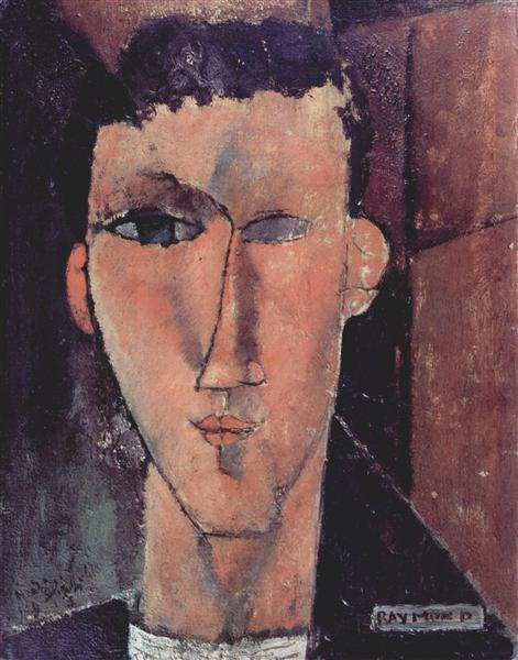 Portrait of Raymond, 1915 - Amedeo Modigliani
