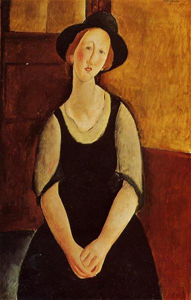 Thora Klinckowstrom, 1919 - Amedeo Modigliani