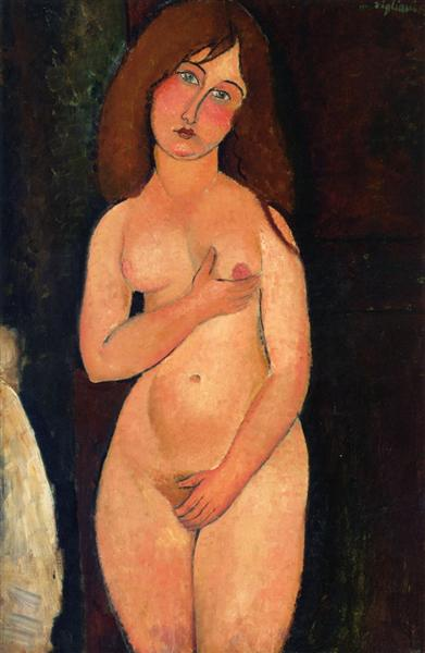 Venus (Standing nude), 1917 - Amedeo Modigliani