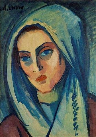 Portrait de Jeanne, 1908 - André Lhote