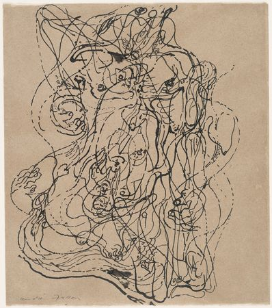 Automatic Drawing - Andre Masson