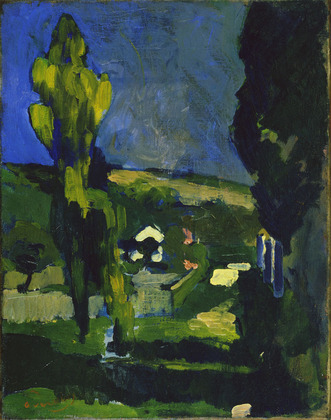 Poplars, 1900 - Andre Derain