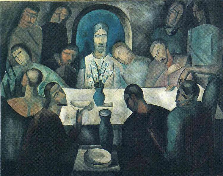 The Last Supper of Jesus, 1911 - Andre Derain
