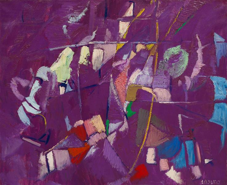 La soeur de la Violette, 1957 - Andre Lanskoy