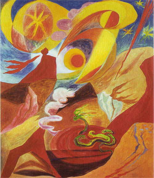 Landscape with miracles, 1935 - Andre Masson