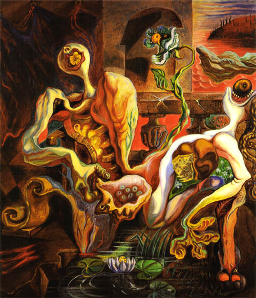 The Metamorphosis of the Lovers, 1938 - Andre Masson