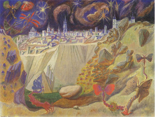 Pupae to Toledo - Andre Masson