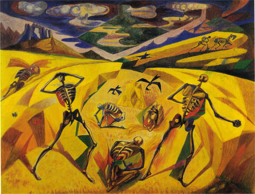 The Andalusian Reapers, 1935 - Андре Массон