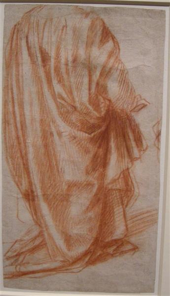 Study of Drapery, 1522 - 1525 - Andrea del Sarto