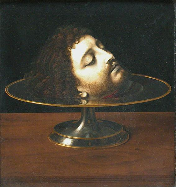 Head of St. John the Baptist, 1507 - Andrea Solario