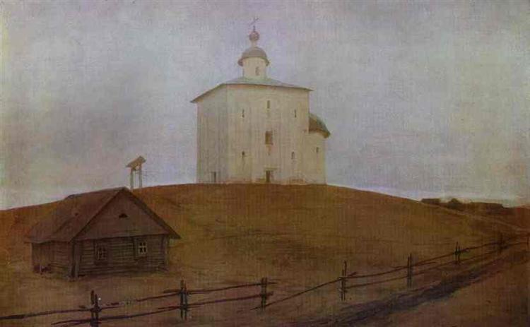 Novgorod Church, 1903 - Andrei Petrowitsch Rjabuschkin
