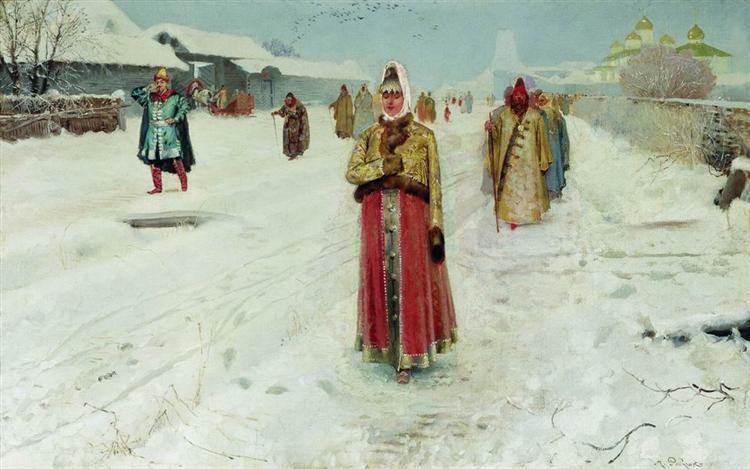 Sunday, 1889 - Андрей Рябушкин