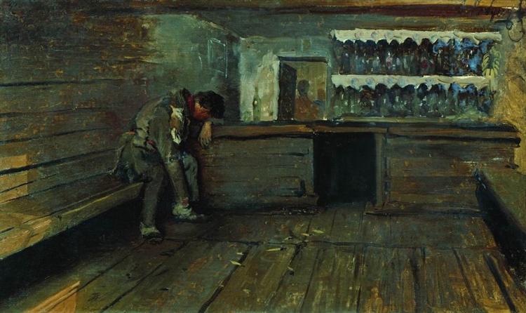 Tavern, 1891 - Андрей Рябушкин
