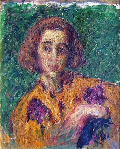 Estudio de joven, 1942 - Andres de Santa Maria