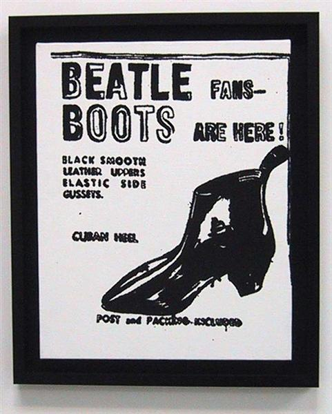 Beatle Boots, 1986 - Andy Warhol