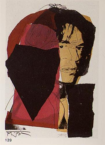 Mick Jagger - Andy Warhol